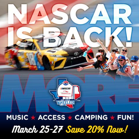 NASCAR at COTA 2022