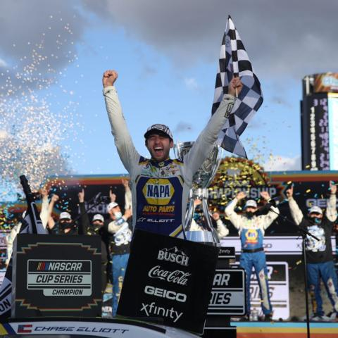 Chase Elliot wins the 2020 NASCAR Cup Series Championship title