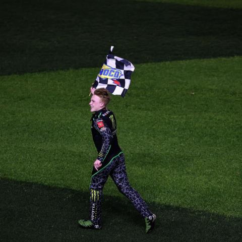 Ty Gibbs wins in his NASCAR Xfinity Series debut