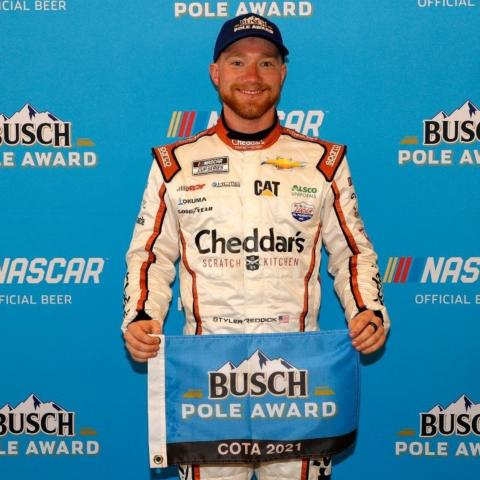 Tyler Reddick earned his first career pole position Sunday at Circuit of The Americas and will lead the EchoPark Automotive Texas Grand Prix to the green flag at the 1:30 p.m. CT start.