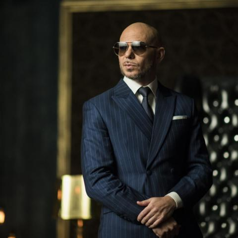 Pitbull, co-owner of Trackhouse Racing