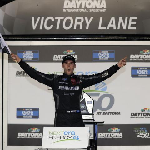 Ben Rhodes wins at Daytona International Speedway