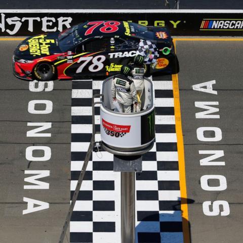 Martin Truex Jr. wins Sonoma Raceway